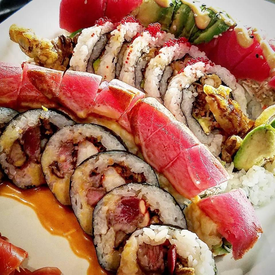 cobo sushi rolls